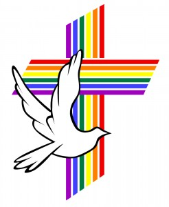 rainbow cross logo