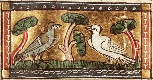 Illuminated manuscript | Koninklijke Bibliotheek, KB, KA 16, Folio 81v