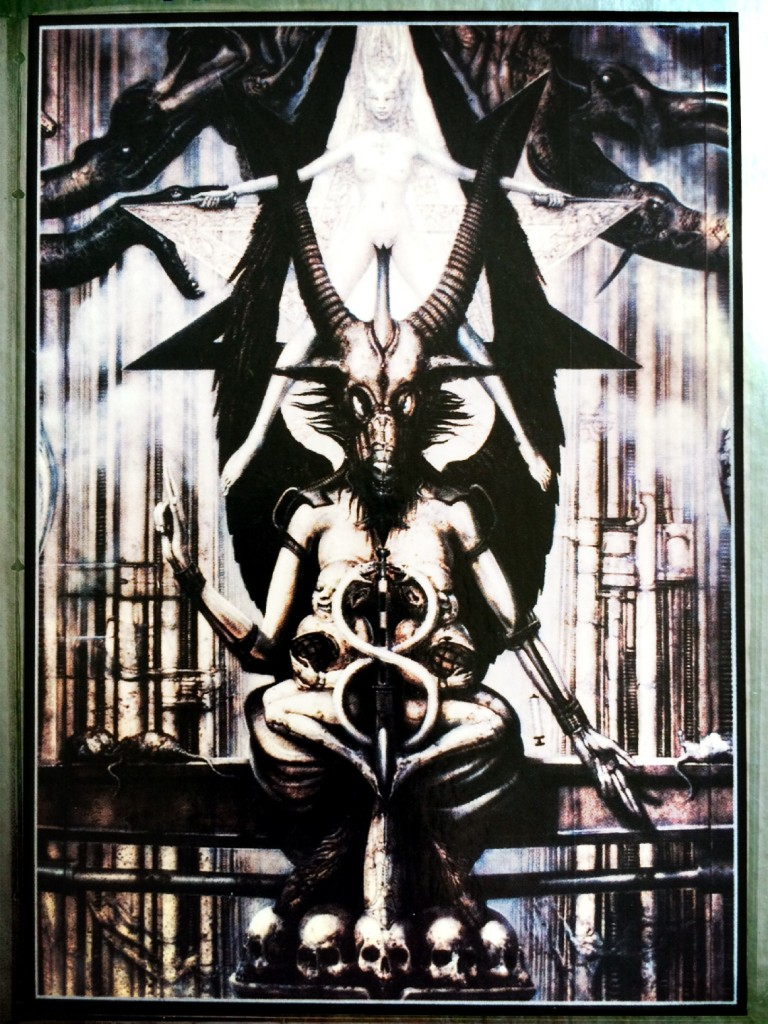 Baphomet: Tarot of the Underworld by Akron and Giger, 2010 (Photo: Camelia Elias)