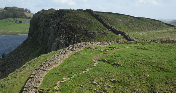 """Hadrian's Wall"" by Johnnie Shannon. From Wikimedia via CC License."