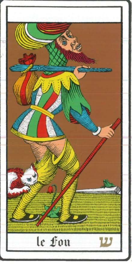 By Oswald Wirth - Le Tarot, Public Domain,