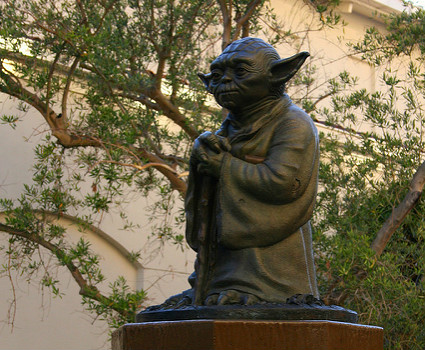 """""""Yoda Fountain"""" Polly Peterson ©2013 – Used with Permission"""