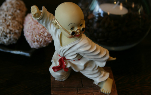 """""""Taekwondo Monk"""" by Polly Peterson.  Used with permission."""