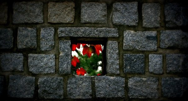 """""""Wall Detail, Hwaseong Fortress, Suwon"""" ©2008 – Polly Peterson.  Used with permission."""