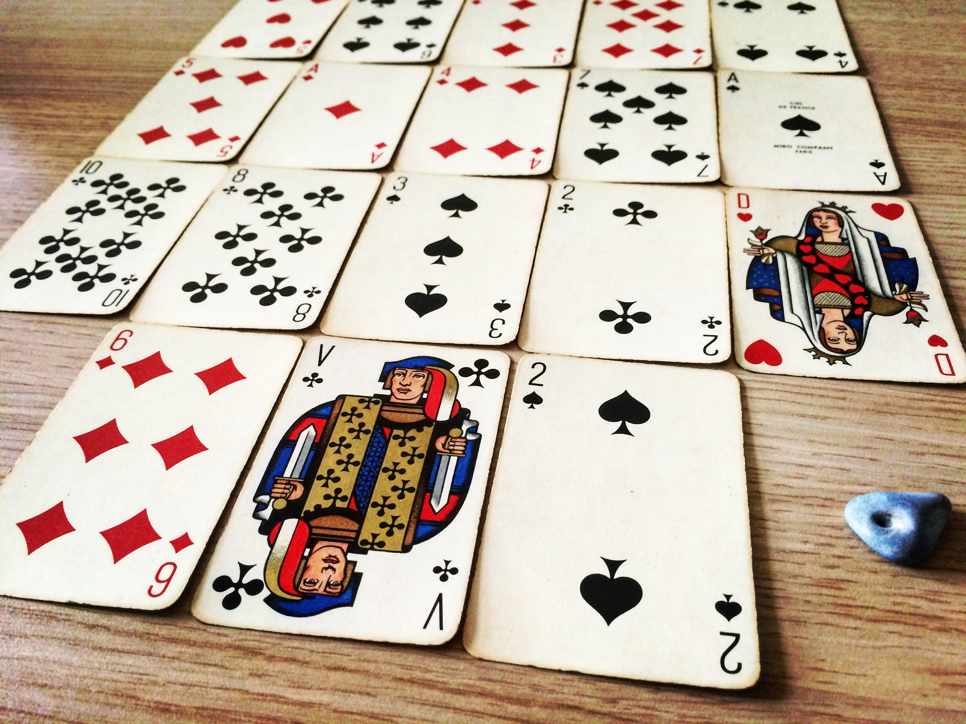 Cards: Ciel De France, Miro Company (Photo: Camelia Elias)