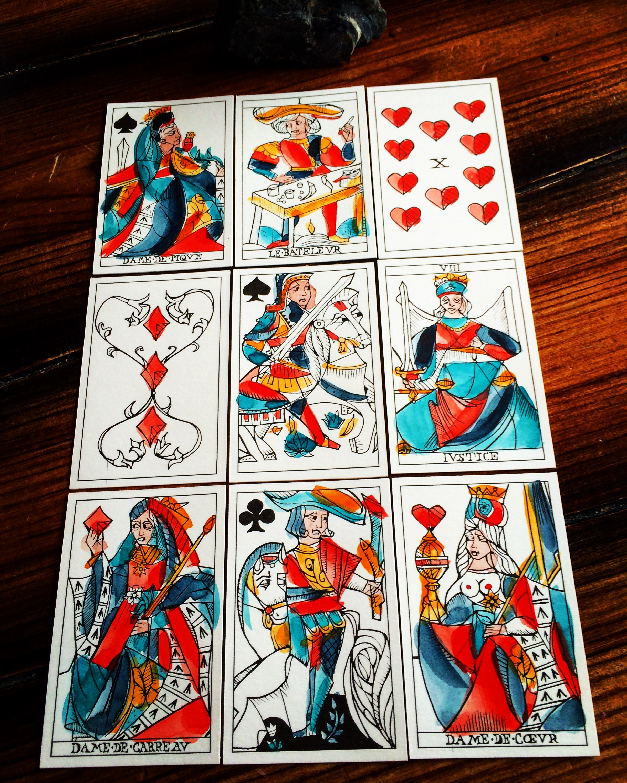 Marseille Playing Cards by Ryan Edward, 2017 (Photo: Camelia Elias)