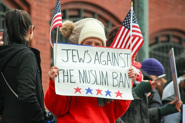 Sign: Jews Against the Muslim Ban
