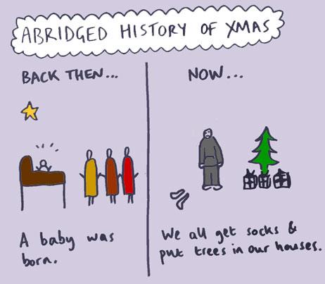abridged history of Christmas