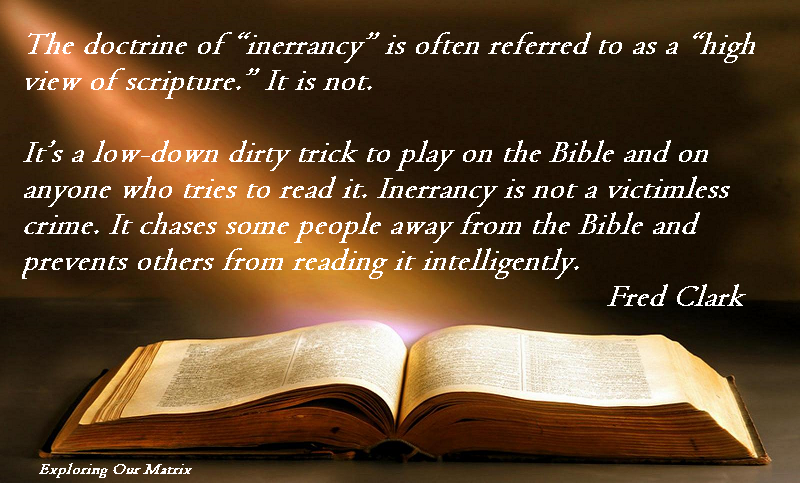 Inerrrancy is not a victimless crime
