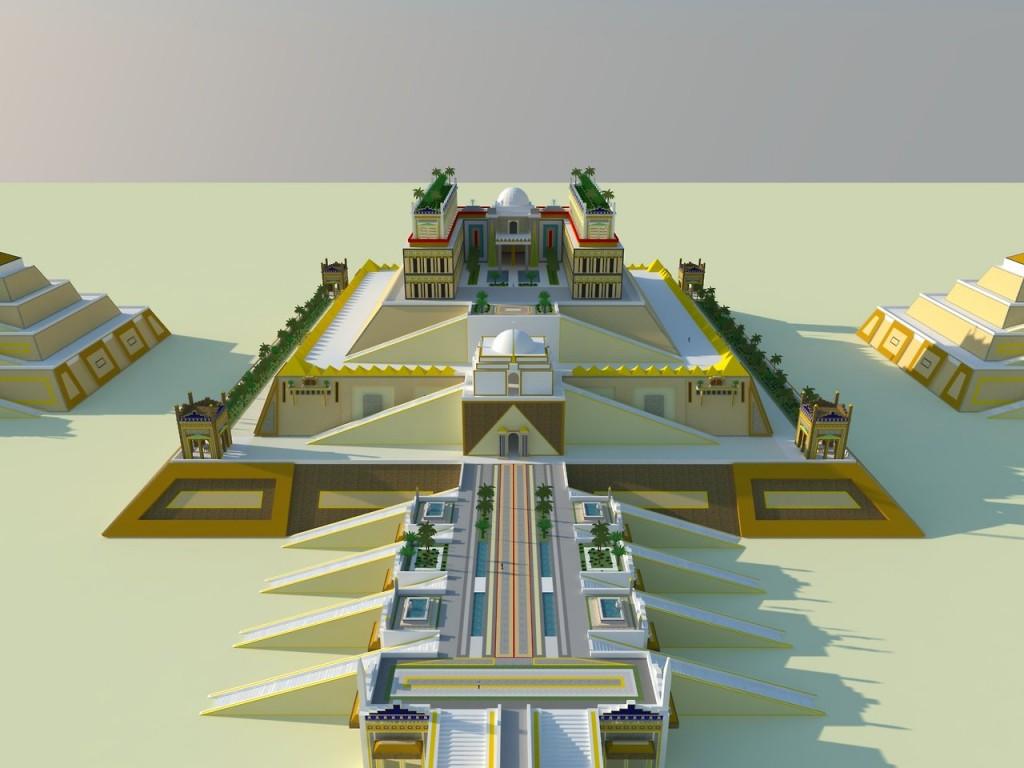 3D Ziggurat Modeling