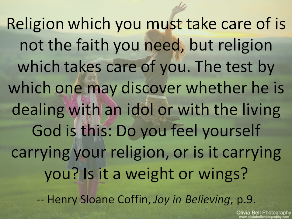 Henry Sloane Coffin quote