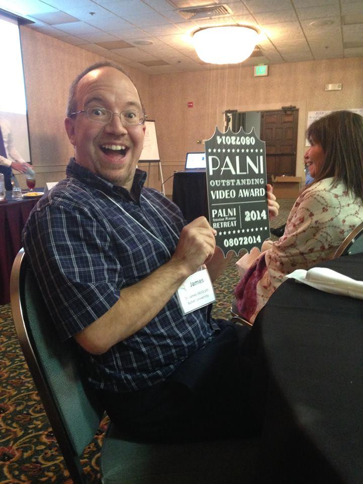 McGrath receiving PALNI prize