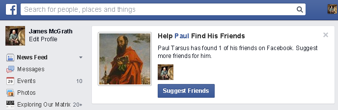 Help Paul find his friends