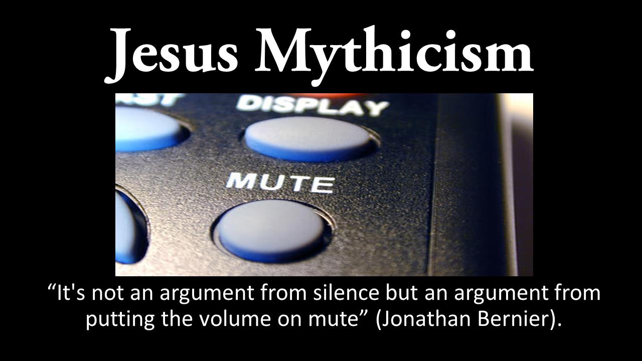 Jesus Mythicism Mute Quote