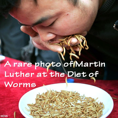 Martin Luther Diet of Worms