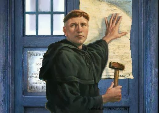 luther and tardis