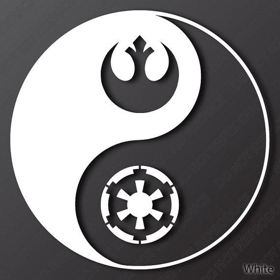 Star Wars Yin Yang