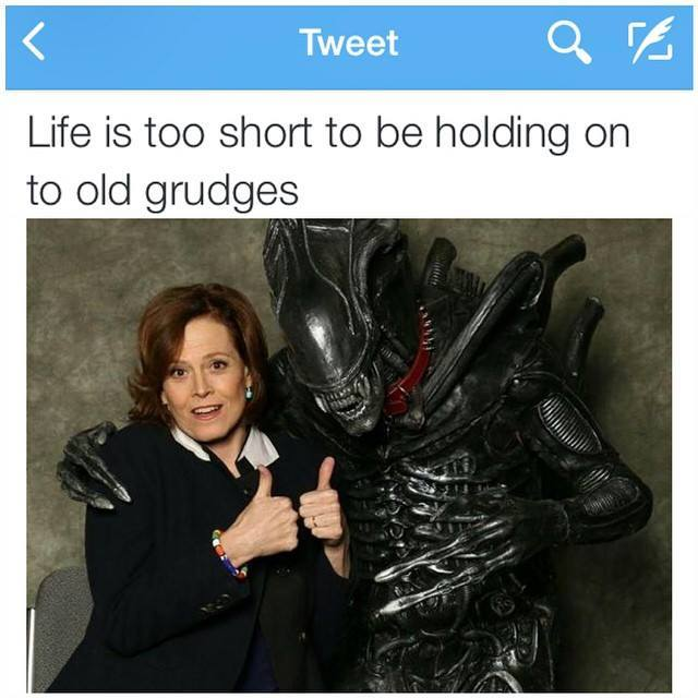 Alien reconciliation