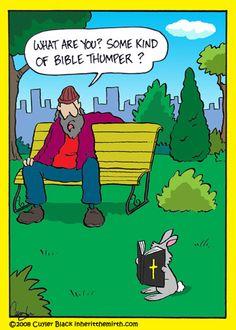 Bible thumper