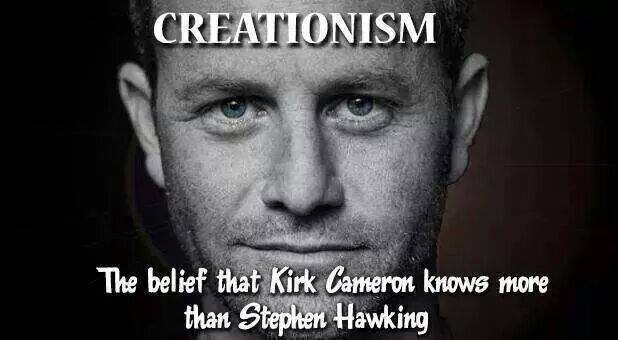 Creationism Defined Kirk Cameron