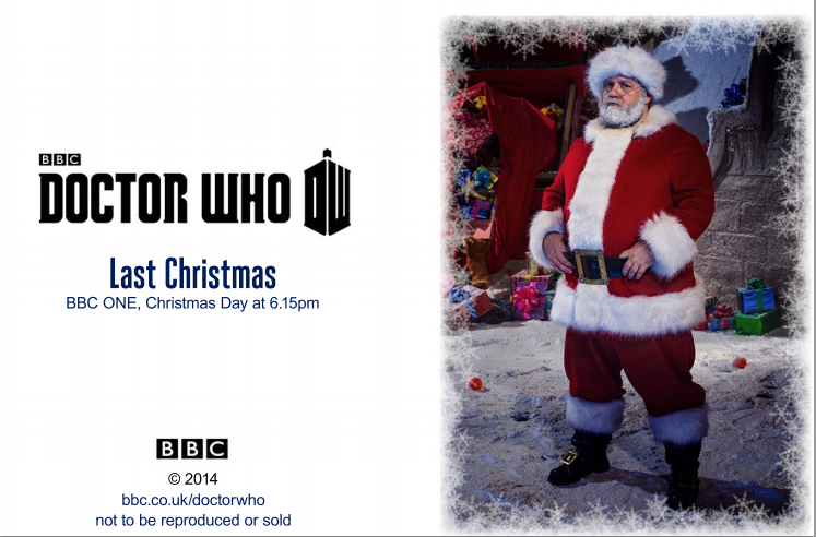 Doctor Who Christmas Cards.Doctor Who Christmas Cards James Mcgrath