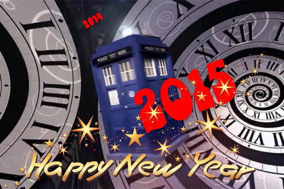 Happy New Year 2015 Doctor Who