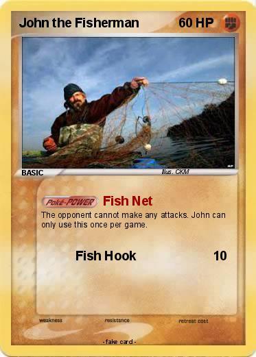 John the Fisherman card