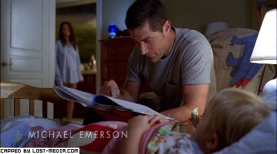 LOST Jack reading to Aaron