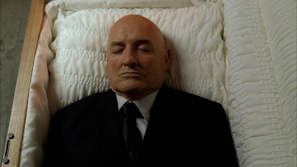 Locke in Coffin