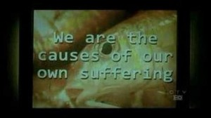 we are the causes of our own suffering