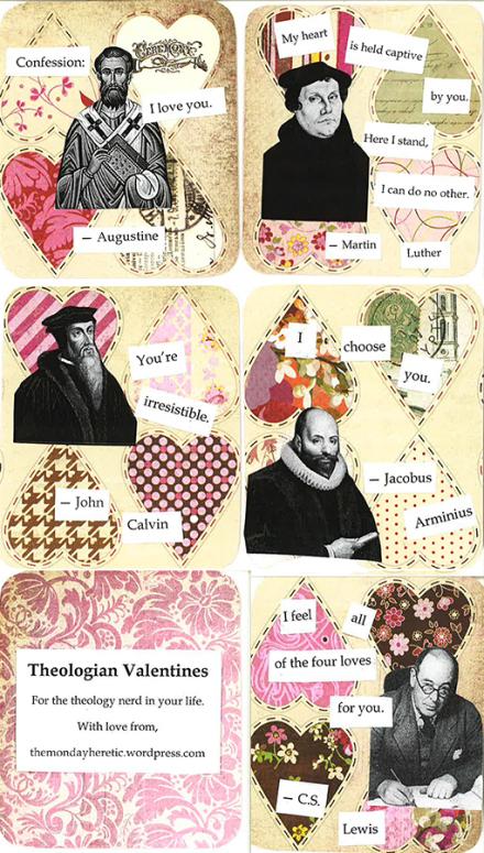 Theologian Valentines