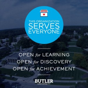 Butler University open for everyone