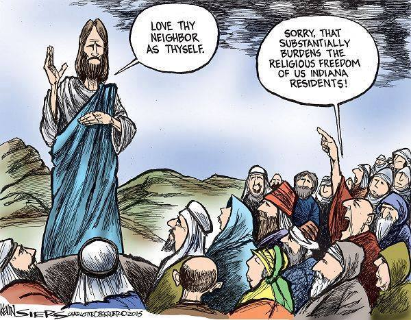 Jesus Burdens our Religious Freedom