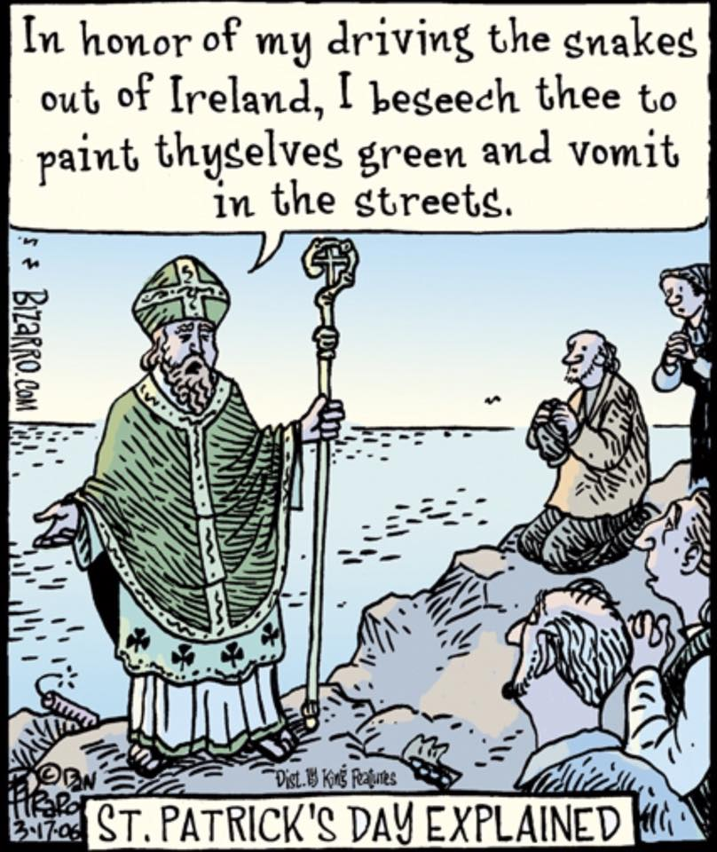 St Patrick's Day Explained