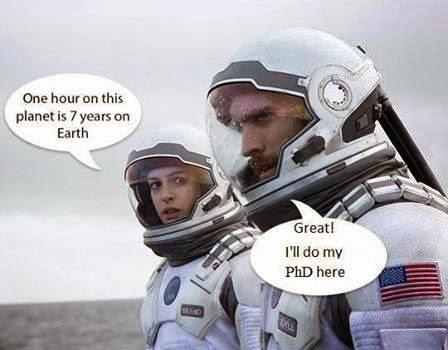 Interstellar PhD