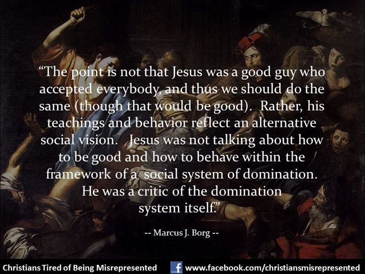 Jesus as critic of social domination system
