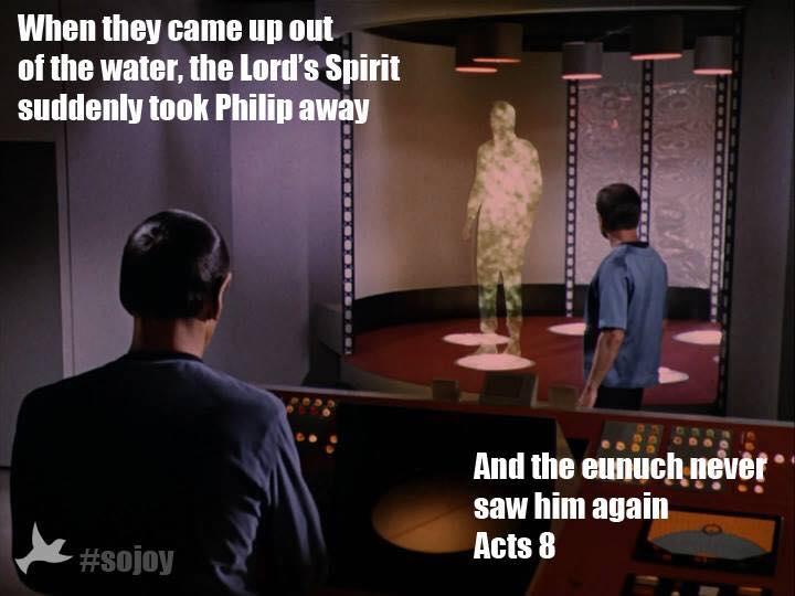 Acts 8 Star Trek