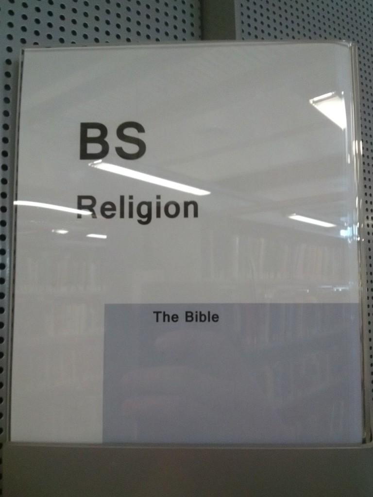 BS religion