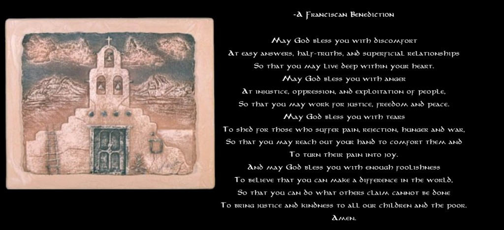Benedictine blessing