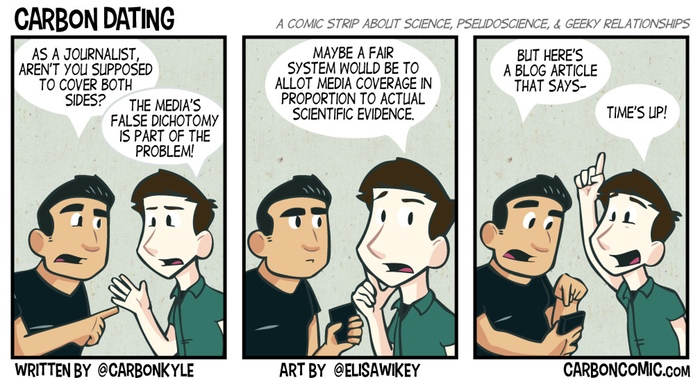 Carbon Dating comic