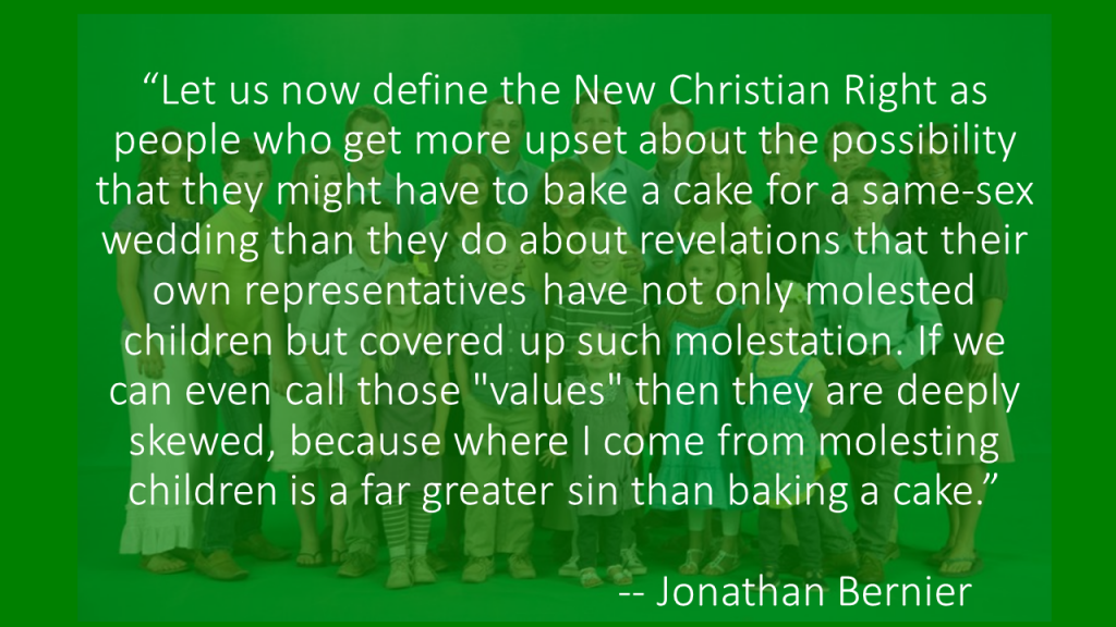 Jonathan Bernier Good and Evil