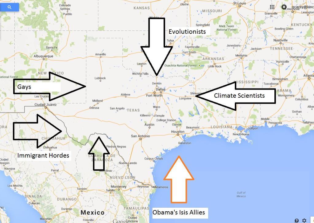 Obama Texas invasion plan