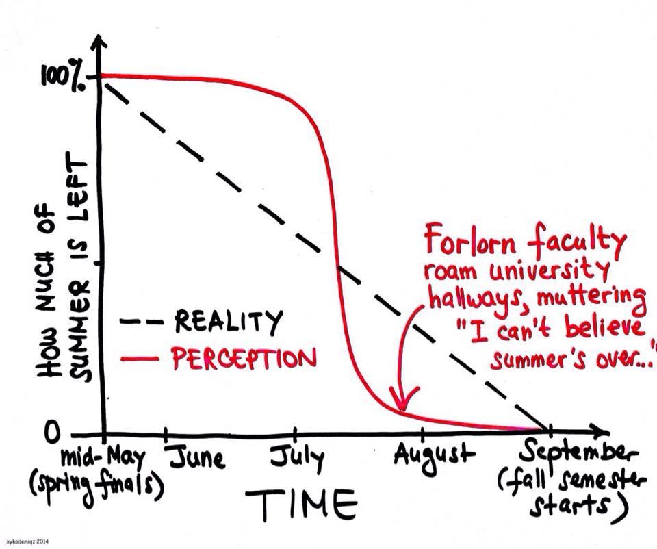 Perception of summer