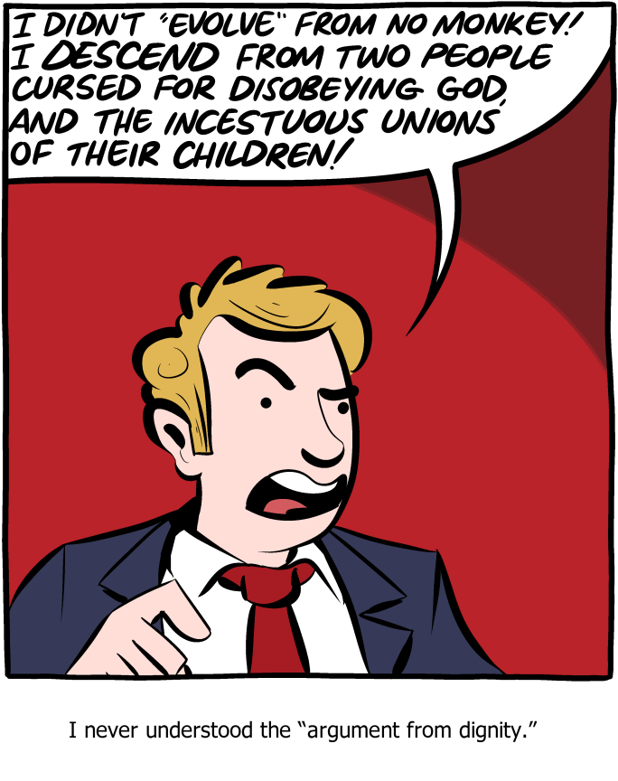 SMBC argument from dignity