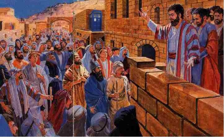 TARDIS Pentecost
