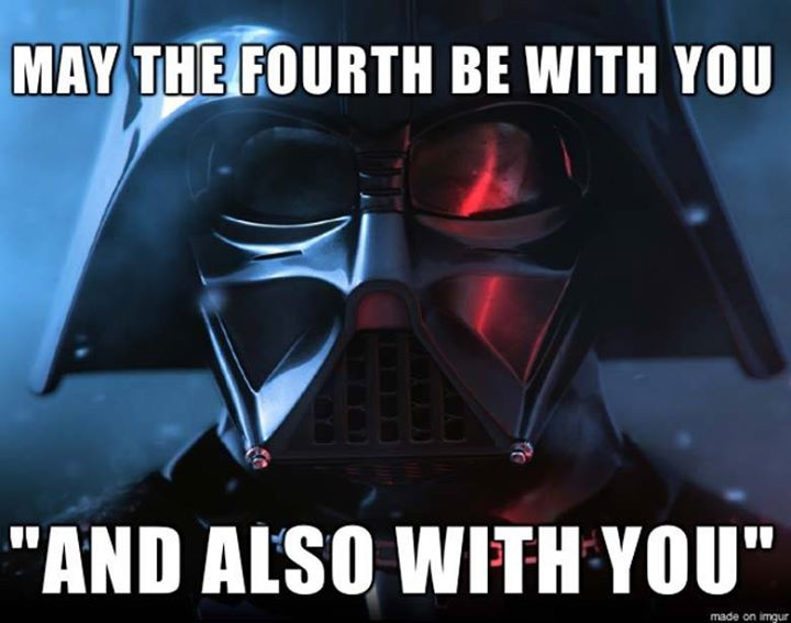 Vader and also with you