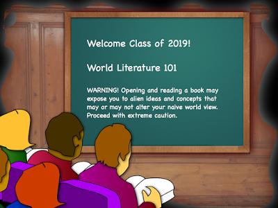World Literature 101 Trigger Warning