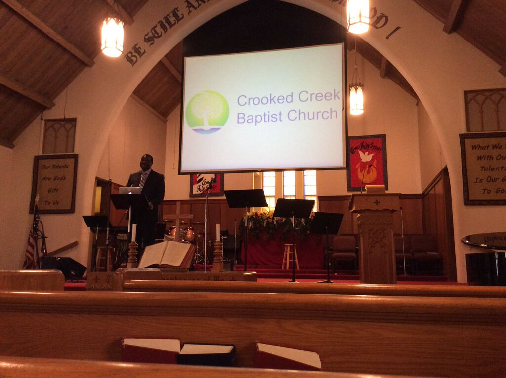 Paul Gitwaza at Crooked Creek