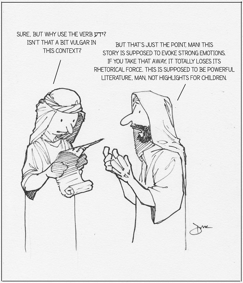 Yada in Genesis 19