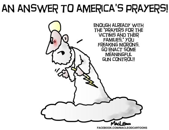 An answer to America's prayers